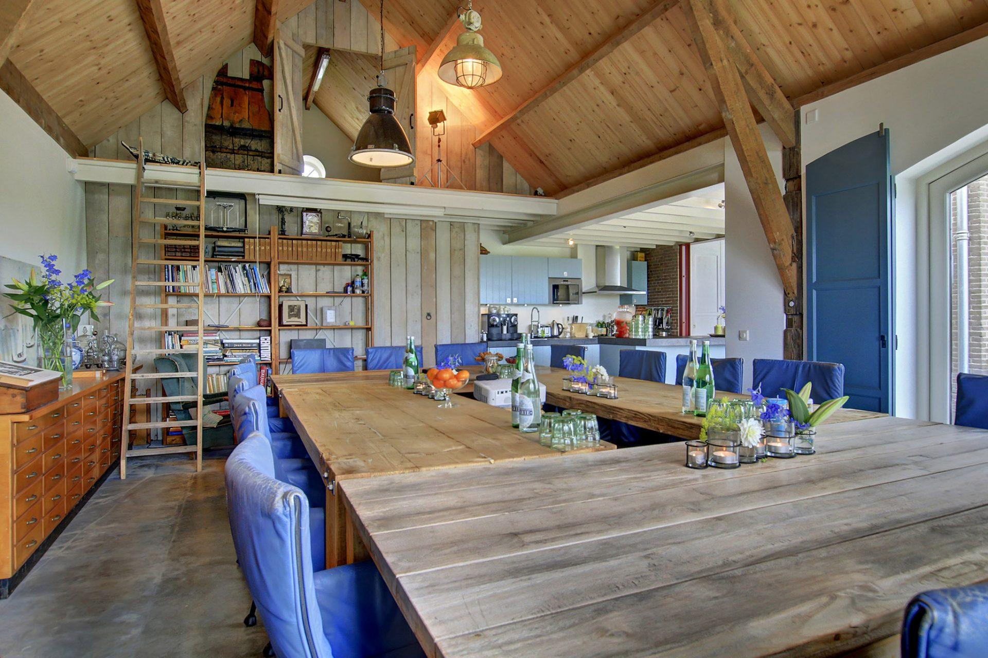 Luxe & huiselijke vergaderruimte in Muiden