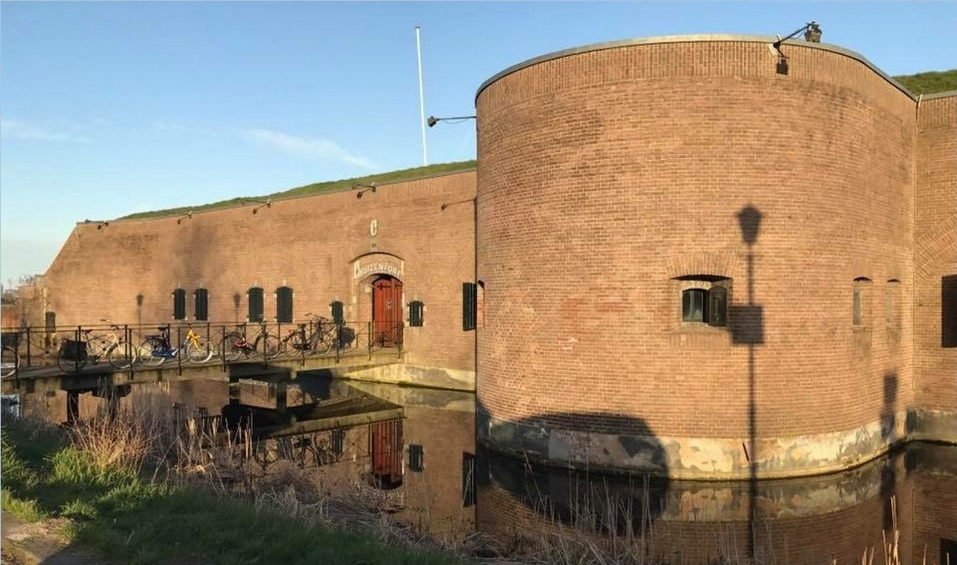Fort C als vergaderlocatie en escaperoom in Muiden